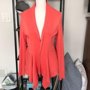 Peach lightweight sweater